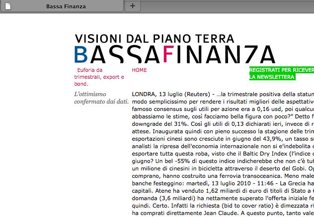 BassaFinanza - gallery