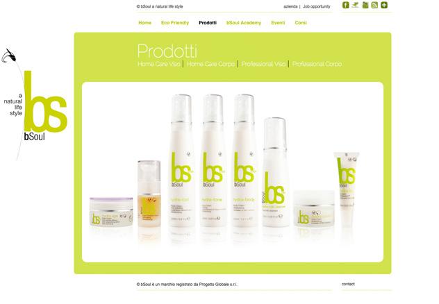 bSoul web site - gallery